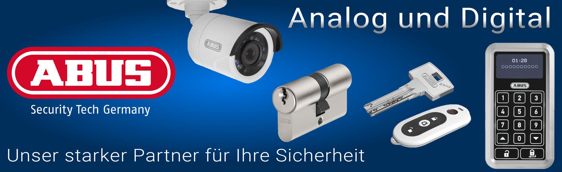 Abus Sicher24 sicherheit digital smart kamera zylinder schlüssel