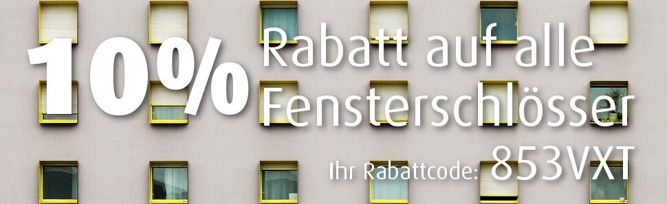 Rabattaktion Fensterschlösser
