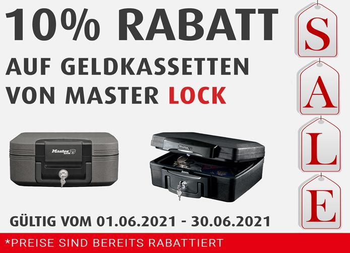 Juni MasterLock 10% Kassetten