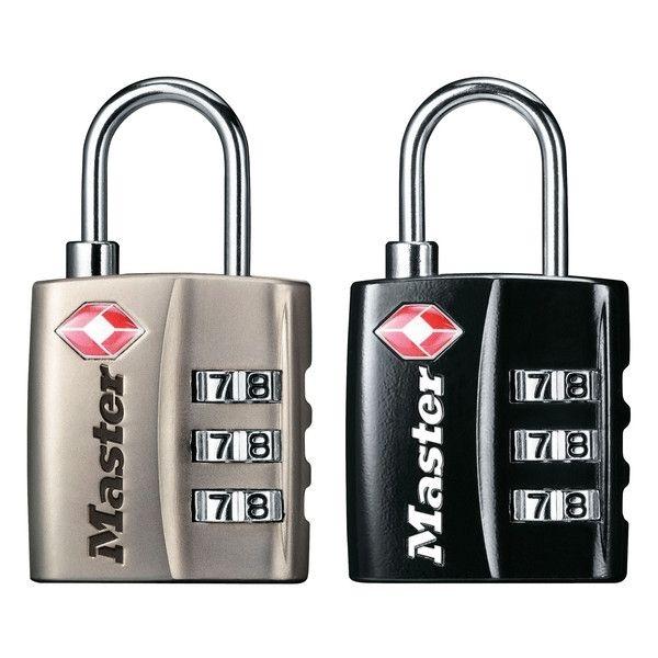 Master Lock TSA Zahlen-Vorhangschloss 4680