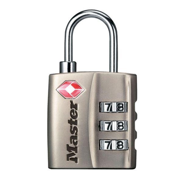 Master Lock TSA Zahlen-Vorhangschloss 4680 - ni...