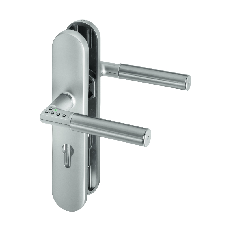 ASSA ABLOY digitaler Türbeschlag Code Handle La...