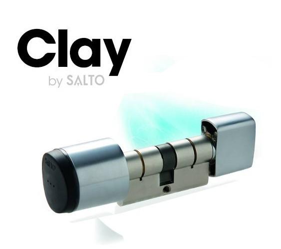 Salto KS elektronischer Knaufzylinder-30 mm-30 ...