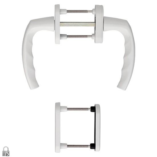 hoppe atlanta fenstergriff rosettengarnitur auf beiden seiten mit griff t rbeschl ge. Black Bedroom Furniture Sets. Home Design Ideas