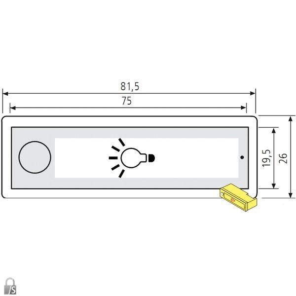 renz rsa2 lichtschild symbol gl hbirne ersatzteile. Black Bedroom Furniture Sets. Home Design Ideas