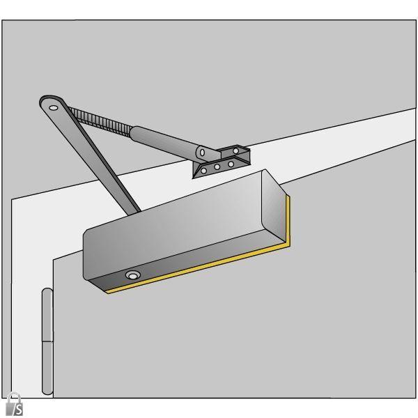abus montageplatte f r abus t rschlie er 8603. Black Bedroom Furniture Sets. Home Design Ideas