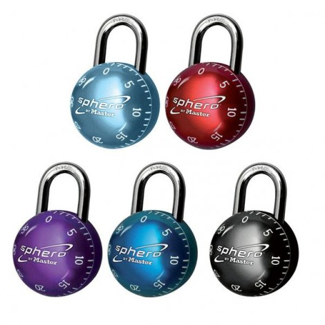 Master Lock Zahlen-Vorhangschloss Sphero