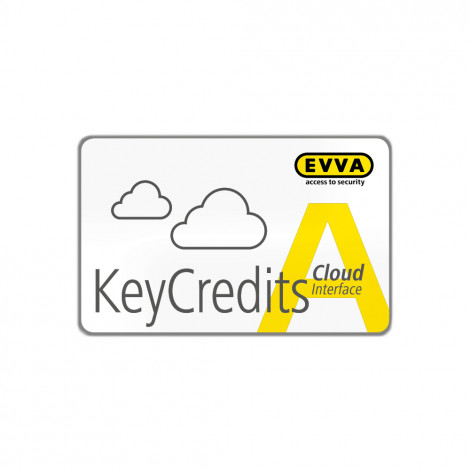 EVVA KeyCredit AirKey-Cloud Interface