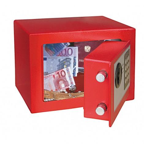 Rottner Tresor Elektronik-Möbeleinsatztresor Dagobert rot