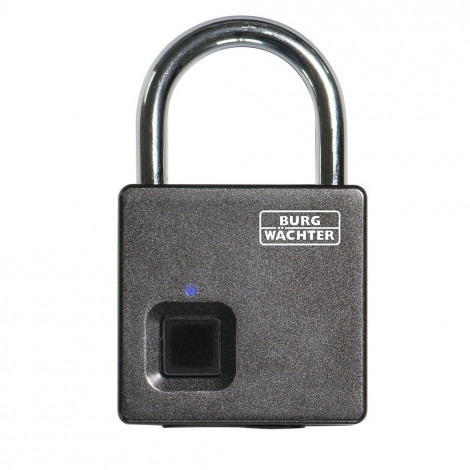 Burg Wächter Fingerabdruck-Vorhangschloss Scan & Lock 610 53