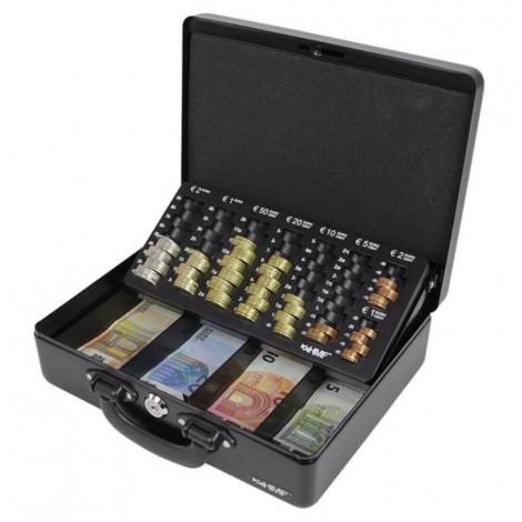 HMF Premium Line Geldkassette 10026 in schwarz
