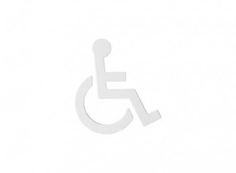 HEWI Türschild - Symbol Barrierefrei