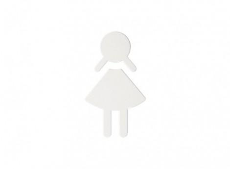 HEWI Türschild - Symbol Frau