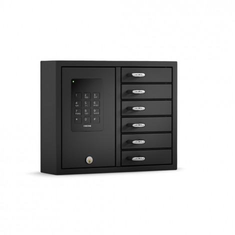 CREONE KeyBox 9006 B in Edelstahl schwarz