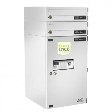 Paketkasten eBoxx ParcelLock EAA 634 weiß