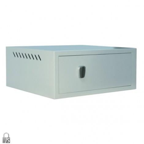 FORMAT Computer-Tresor CST 1 19-Zoll  im geschlossenem Zustand (CST 2 19-Zoll )