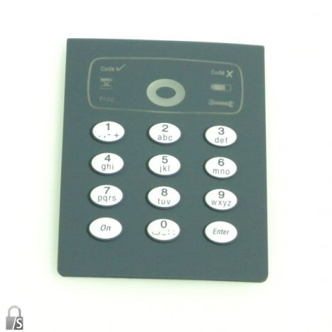 burg w chter tse 3000 tastaturfolie digitale. Black Bedroom Furniture Sets. Home Design Ideas