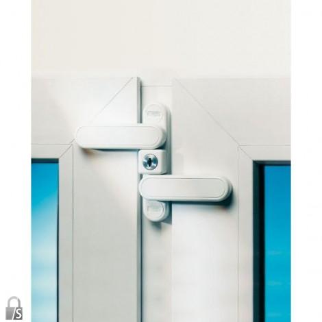Burg Wächter Fenstersicherung WinSafe WD 3 in weiß