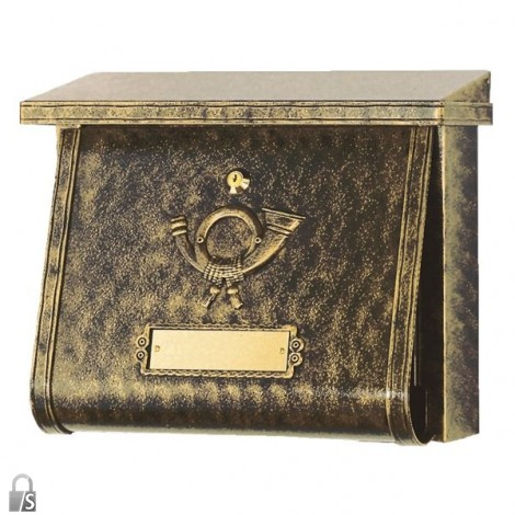 HEIBI Briefkasten Multi in Terra Bronce
