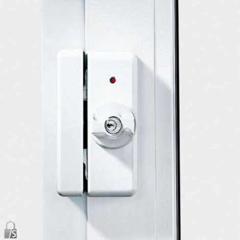 IKON Tür- und Fenstersicherung Kralltec - verschließbar in weiß