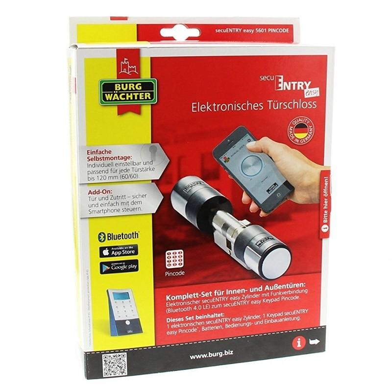 Relativ Burg Wächter secuENTRY easy 5601 PINCODE - Digitale HI44
