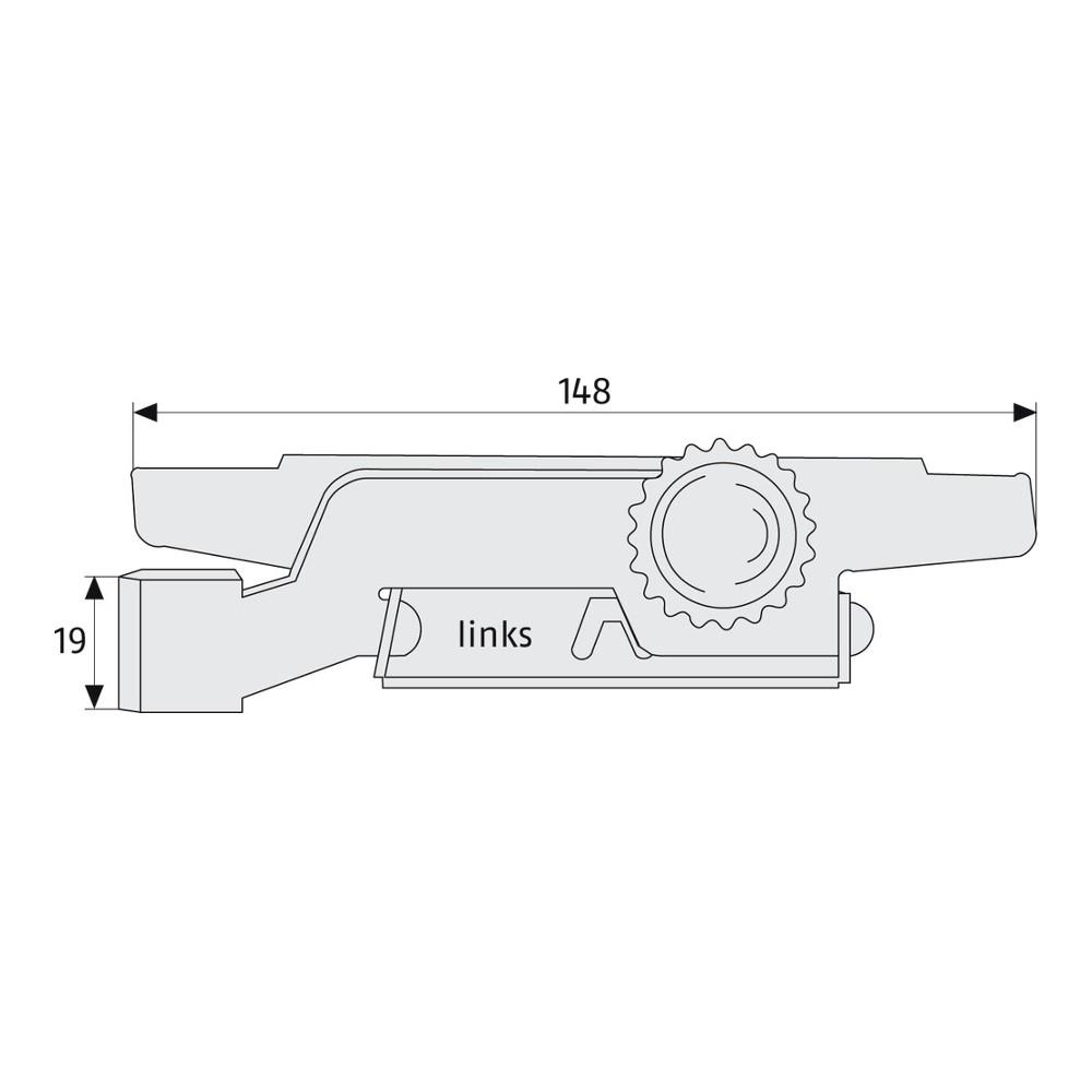 2 Stück ABUS RS97 RS 97 Rolladensicherung verzinkt