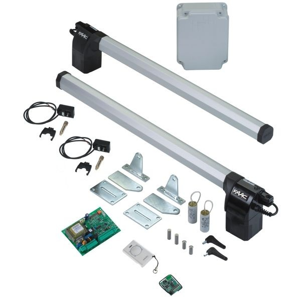 Faac eco kit f r zweifl gelige drehtore 24 v for Faac eco kit