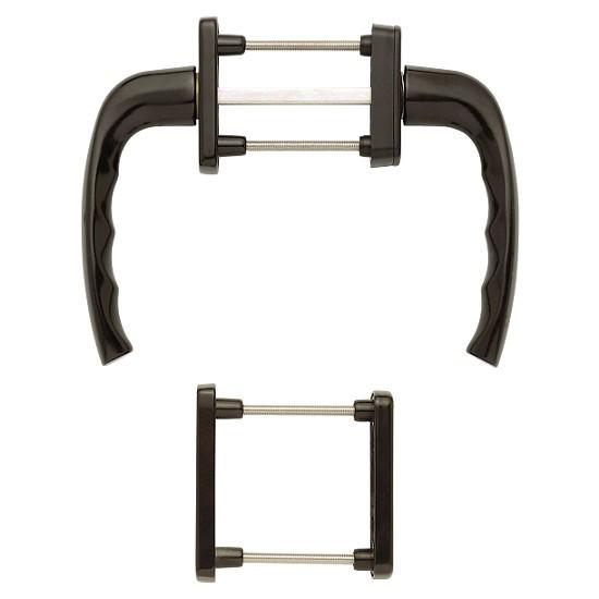 hoppe new york fenstergriff rosettengarnitur auf beiden. Black Bedroom Furniture Sets. Home Design Ideas