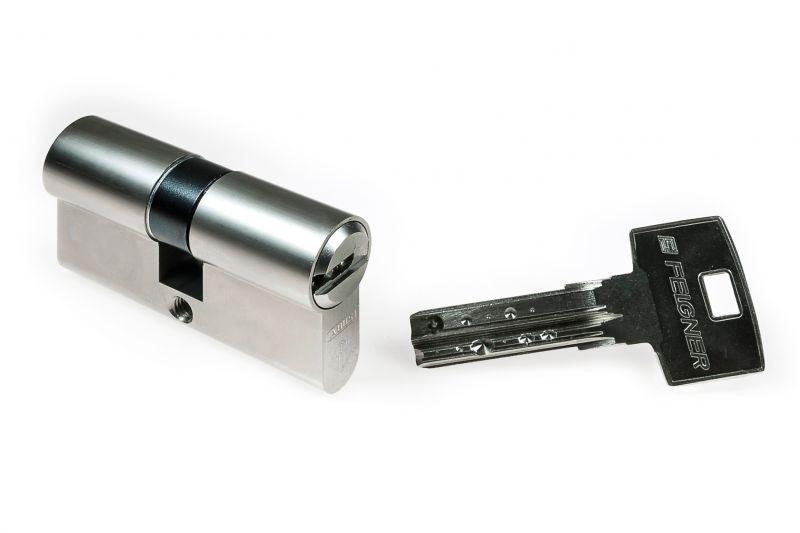 Individual ABUS Bravus3000 Sicherheits-Schließzylinder Doppelzylinder 45//50mm