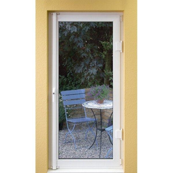 1 weiß ABUS FOS 550 Fensterstangenschloss Fenstersicherung mit Stangenset Nr