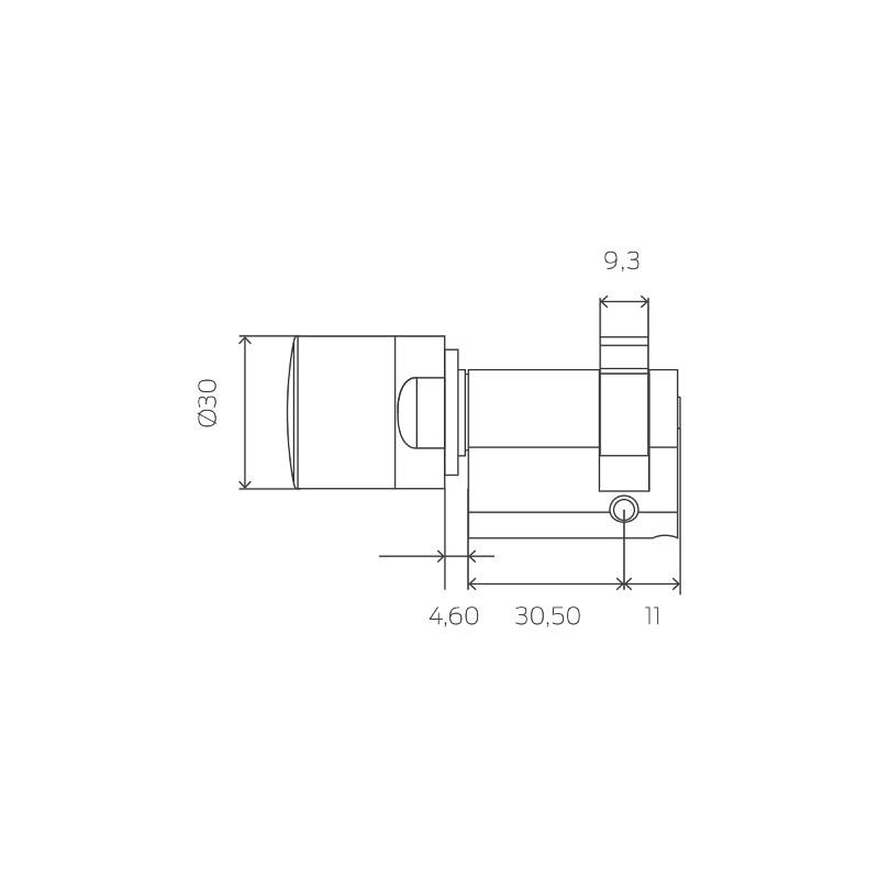 simonsvoss mobilekey halbzylinder digitale schlie zylinder schl sser sicherheitstechnik shop. Black Bedroom Furniture Sets. Home Design Ideas