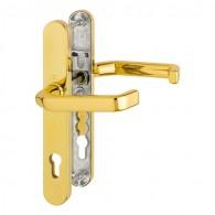 HOPPE Liverpool Profiltür-Schutzbeschlag ohne Zylinder-Abdeckung - Türgriff