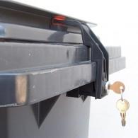 CTS Mülltonnenverschluss - bis 240 Liter mit Griffleistendeckel