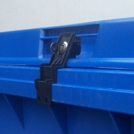 CTS Müllcontainerschloss - für Weber-Flachdeckel - bis 1100 l