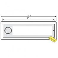 RENZ Kunststoff-Klingeltaster RSA2 kompakt