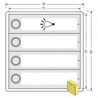 RENZ Kunststoff-Tastenmodul RSA2 kompakt