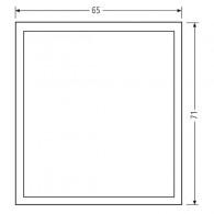RENZ Kunststoff-Abdeckung für Info-Modul