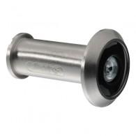 ABUS Türspion 2200 - mit Weitwinkeloptik ( 200 Grad )-silber