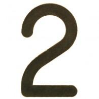 HEIBI Edelstahl-Hausnummern Nosto - Grün / Gold