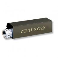 Burg Wächter Stahl-Zeitungsbox 808 braun