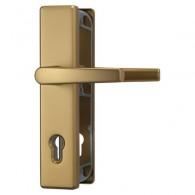 ABUS Schutzbeschlag KLS 114 - F4 Aluminium Bronze - Klinke-Klinke