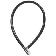 ABUS einfaches Seilschloss 1900/55 in schwarz