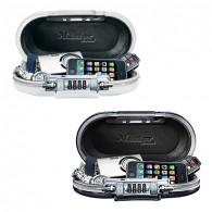 Master Lock tragbarer Minisafe 5900 in schwarz oder weiß