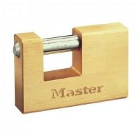 Master Lock Messing Vorhangschloss 607EURD