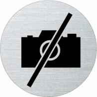 Ofform Edelstahlschild - Fotografieren verboten