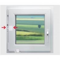 DENI Fenstersicherung Softline 2.0 weiß