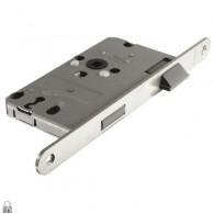ABUS Buntbart-Einsteckschloss TK10 -DIN links-stahl-nickel-silber