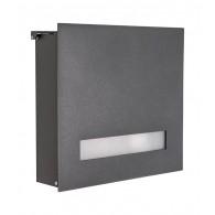 HEIBI Aluminium-Briefkasten Fondalux