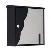 KNOBLOCH - Briefkasten Chicago Design mit Wellenmuster