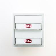 RENZ Tastenmodul mit 2 Klingeltaster